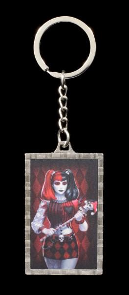 3D Keyring Harlequin - Dark Jester