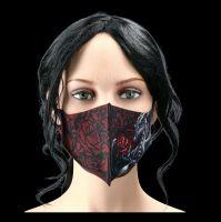 Face Mask - Dragon Rose