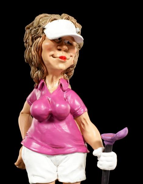 Female Golf Player Figurine - Model Pose