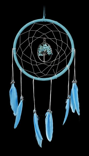 Dreamcatcher - Dream Tree - turquoise