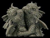 Small Garden Figurine - Dragon Couple