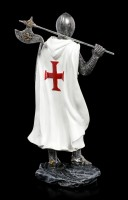 Crusader Figurine with Axe on Shoulder
