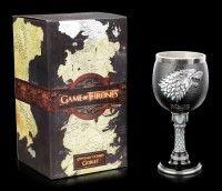 Game of Thrones Goblet - Winter is Coming - House Stark