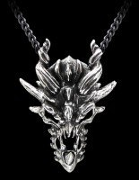 Alchemy Metal Wear - Halskette - Dragon Skull