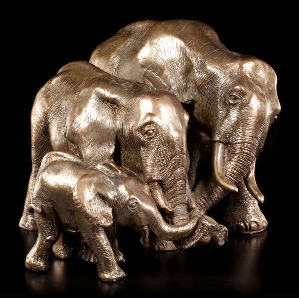 Elefanten Figur - Mutter Vater & Kind