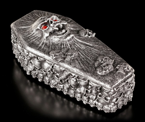 Coffin Box - Spirit Skull