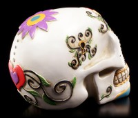 Weißer Totenkopf - Day Of The Dead