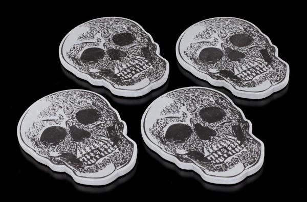 Skull Coasters - Set of 4