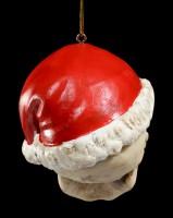 Skull Christmas Decoration - Santa is Dead