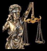 Justitia Figurine - Lady Justice