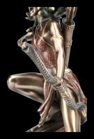 Medusa Figurine - Gorgon with Bow