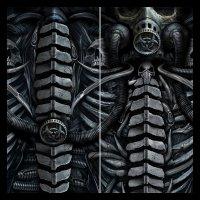 Multifunktions-Gesichtstuch - Bio-Skull