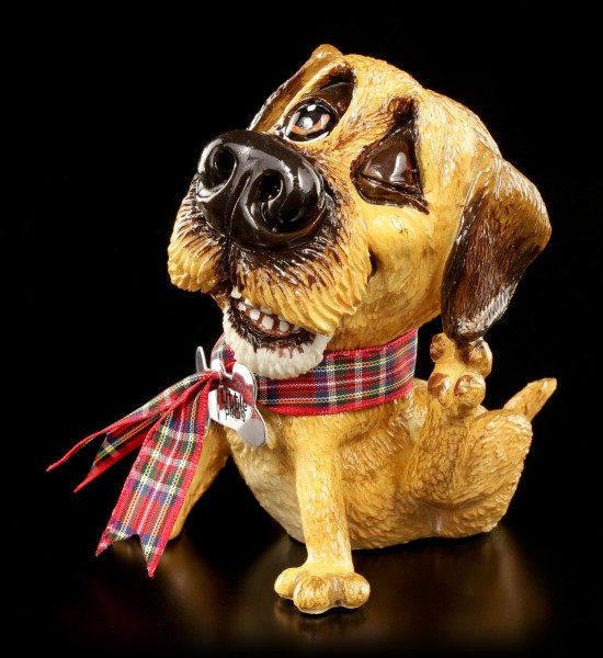 Dog Figurine - Border Terrier Bob - Little Paws