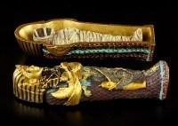 Sarkophag mit Mumie - klein