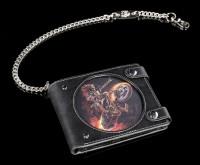3D Wallet with Skeleton Biker - Hellrider