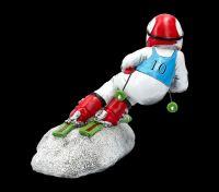 Funny Job Figurine - Skier