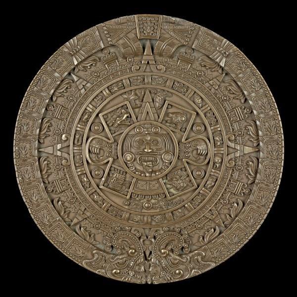 Wall Plaque - Aztec Calendar
