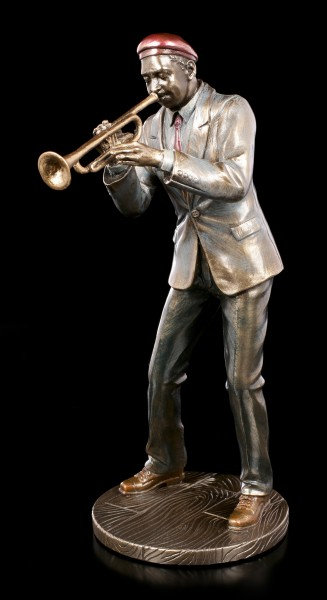 Musican Figurine - Jazz Trumpet Player