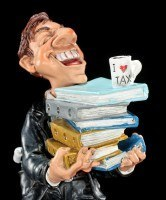 Funny Job Figur - Steuerberater