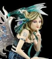 Elfen Figur - Drachen Hüterin Dragomera