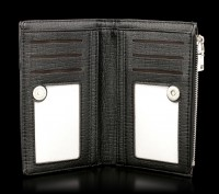 Wallet with 3D Picture - Black Magic Unicorn