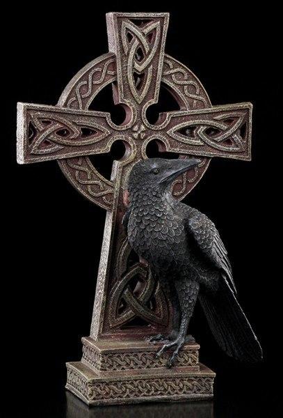 Celtic Cross Raven - right