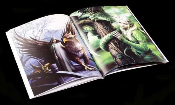 Fantasy Art Malbuch - Anne Stokes