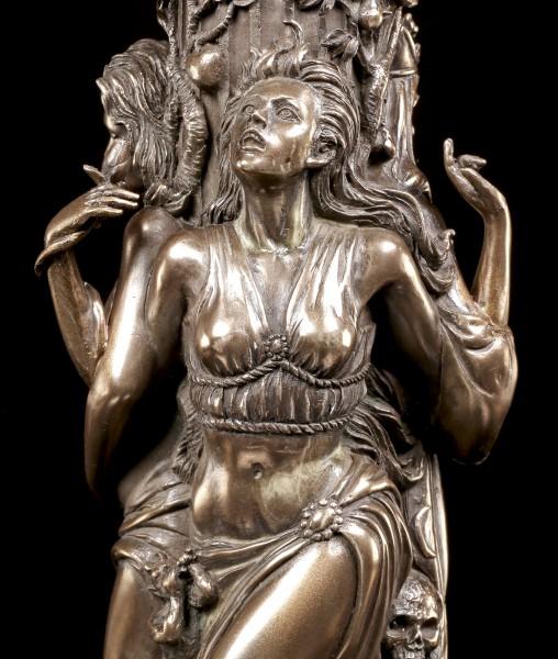 Tealight Holder - Triple Goddess