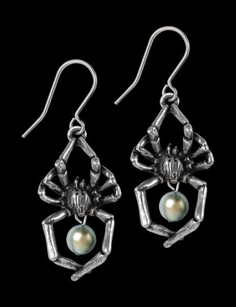 Alchemy Spider Earrings - Glistercreep
