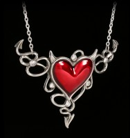 Alchemy Gothic Halskette - Devil Heart Genereux