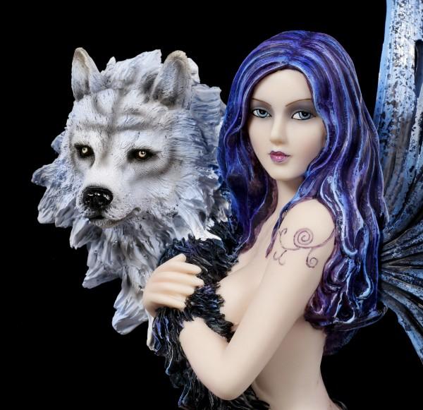 Fairy Figurine - Wolf Spirit