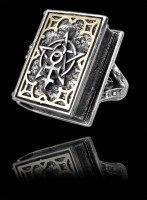 Alchemy Buch Ring mit Geheimversteck