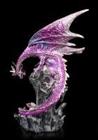 Drachen Figur - Stolzer Vater