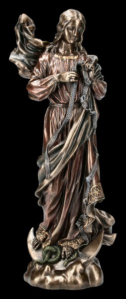 Mary Untier of Knots Figurine