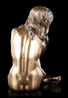Weibliche Akt Figur - Sitzend mit Blick zum Boden