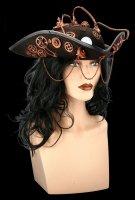 Steampunk Tricorn Hat - Steam Pirate 2