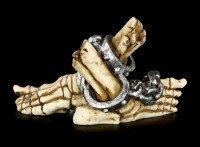 Smartphone Halter - Skelettfüße