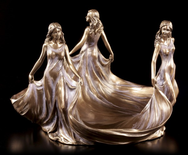 Art Nouveau Plate - Three Virgins