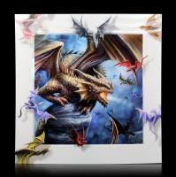 5D Bild mit Drachen - Dragon Clan
