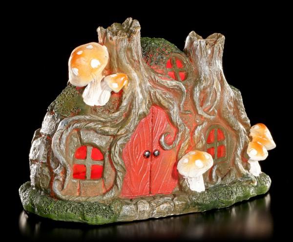 Elfen Häuschen mit LED - Trunk Cottage