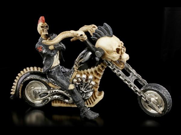 Skelett Biker - Hell for Leather - klein