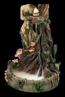 Backflow Räucherhalter - Mutter Erde