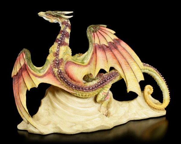 Dragon Figurine - Samoon on Rock