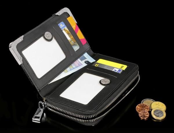 Lack Geldbörse mit 3D Motiv - Ravenous - klein