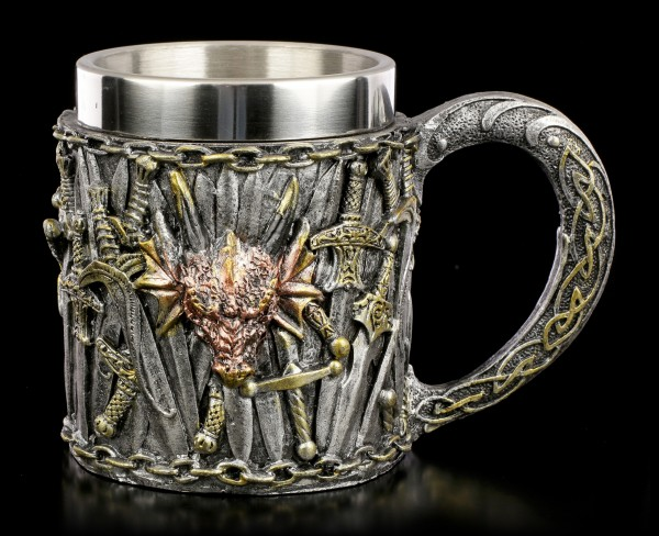 Tankard with Swords - Dragon Kingdom