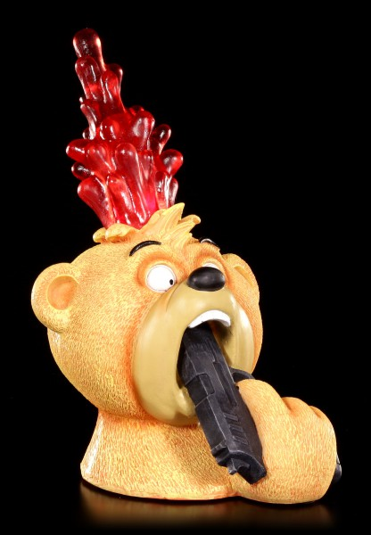 Bad Taste Bears Figur - Topper mit roter LED