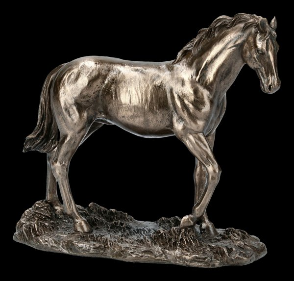Horse Figurine on Meadow