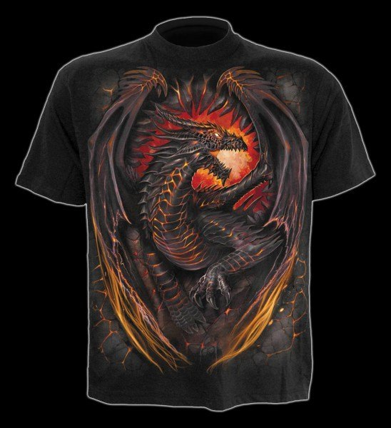 T-Shirt Drache - Dragon Furnace