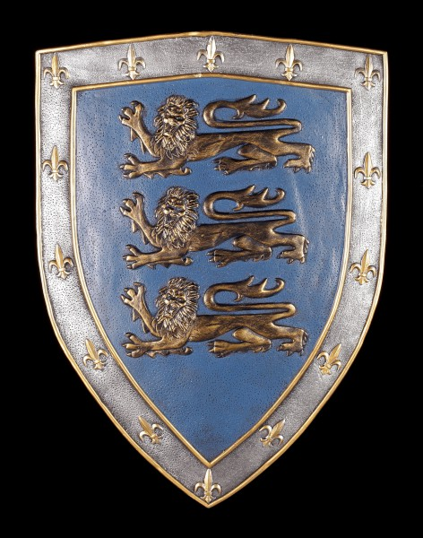 Wall Plaque Shield - Three Lions