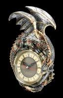 Wall Clock Steampunk Dragon - Clockwork Combustor